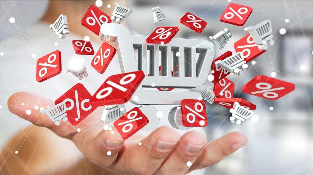 کاهش قیمت در خرید کالا